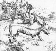 The Deformed Landser Sow, Albrecht Durer