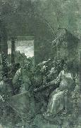 Green Passion: Christ before Caiaphas, Albrecht Durer