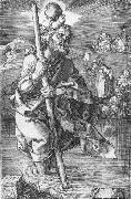 St Christopher Facing to the Right, Albrecht Durer