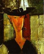 Madame Pompadour by Modigliani, Amedeo Modigliani