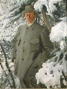 The Painter Bruno Liljefors,, Anders Zorn