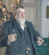 A Toast in the Idun Society,, Anders Zorn