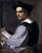 Andrea del Sarto The so called Portrait of a Sculptor oil painting on canvas