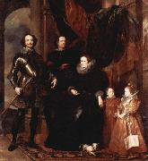 Genoan hauteur from the Lomelli family,, Anthony Van Dyck