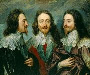 This triple portrait of King Charles I was sent to Rome for Bernini to model a bust on