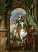 Charles I with M. de St Antoine, Anthony Van Dyck