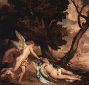 Amor and Psyche,, Anthony Van Dyck