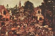 Village Feast, BRUEGHEL, Pieter the Younger