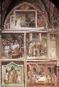 Barna da Siena Scenes from the New Testament oil painting