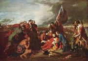The Death of General Wolfe,, Benjamin West
