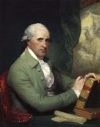 As painted by Gilbert Stuart,, Benjamin West