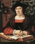 Bernard van orley Joris van Zelle,1519, Oil on oak panel oil painting artist