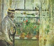Eugene Manet on the Isle of Wight, Berthe Morisot