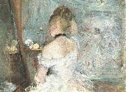 Lady at her Toilette, Berthe Morisot