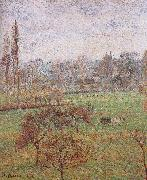autumn morning, Camille Pissarro