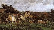 Camille Pissarro Loose multi-tile this Canada thunder hillside oil painting reproduction