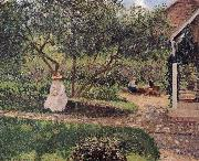 corner of the garden, Camille Pissarro