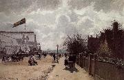 Crystal Palace London, Camille Pissarro
