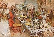 Christmas Eve, Carl Larsson