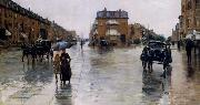 Regentag in Boston, Childe Hassam