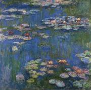Claude Monet Water Lilies, 1916 oil painting reproduction