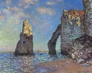 The Cliffs at Etretat, Claude Monet
