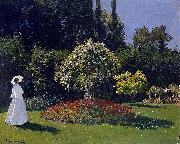 Woman in a Garden, Claude Monet