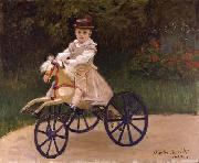 Jean Monet on his Hobby Horse, Claude Monet