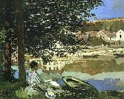 On the Bank of the Seine, Bennecourt, 1868
