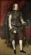 Philip IV in Brown and Silver,, Diego Velazquez