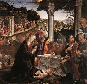 Domenico Ghirlandaio Adoration of the Shepherds oil painting reproduction
