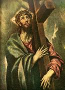 christ bearing the cross, El Greco