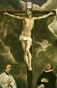 El Greco christ on the cross oil painting reproduction