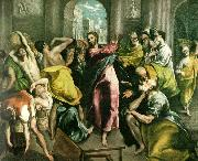 cleansing of the temple, El Greco