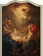 Francois Boucher Adoration of the Shepherds oil painting reproduction