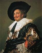 Laughing Cavalier,, Frans Hals