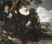 Married Couple in a Garden WGA, Frans Hals