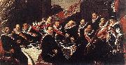 Banquet of the Officers of the St George Civic Guard WGA, Frans Hals