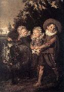 Group of Children WGA, Frans Hals