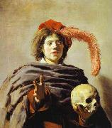 Youth with a Skull