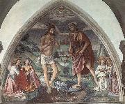 Baptism of Christ, GHIRLANDAIO, Domenico