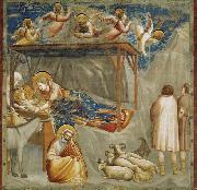 GIOTTO di Bondone Birth of Jesus oil painting reproduction