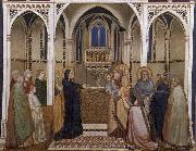 GIOTTO di Bondone Presentation of Christ in the Temple oil painting reproduction