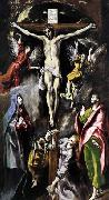 GRECO, El The Crucifixion oil painting reproduction