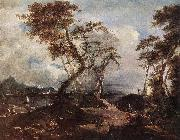 GUARDI, Francesco Landscape oil painting reproduction