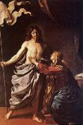 Apparition of Christ to the Virgin, GUERCINO