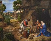 The Allendale Nativity Adoration of the Shepherds, Giorgione