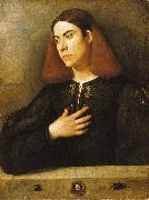 The Budapest Portrait of a Young Man, Giorgione