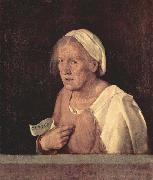 The Old Woman, Giorgione