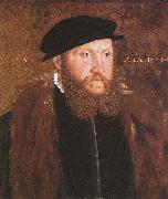 Man in a Black Cap, Hans holbein the younger